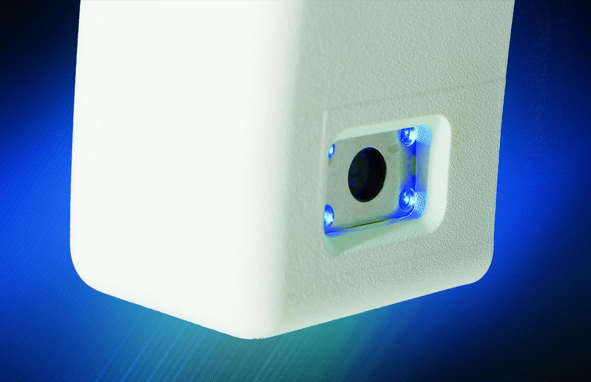 Nahaufnahme 4D LED-Licht Kamera
