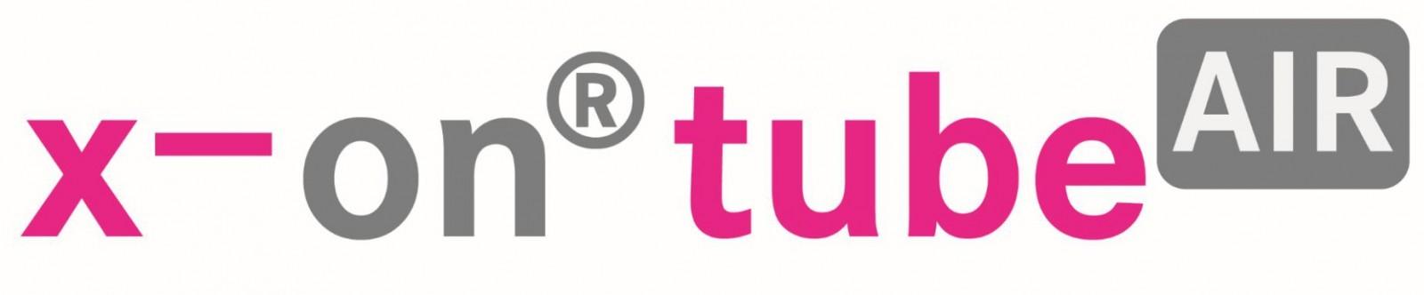 x-on tube air logo