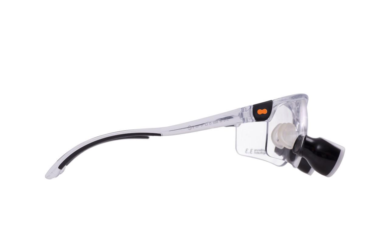 opt-on Lupenbrille Fassung Transparent